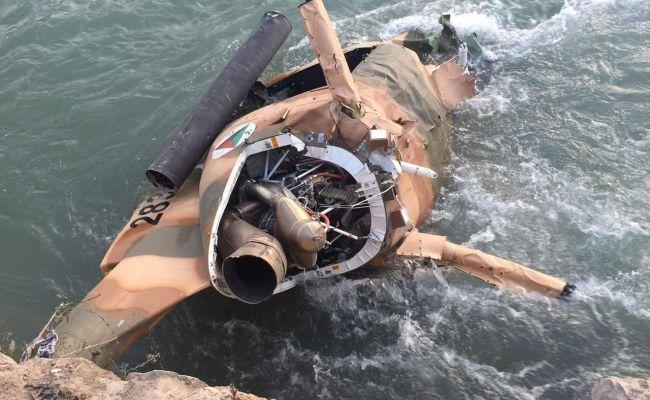 Насеверо-востоке Афганистана разбился военный вертолет, пилоты погибли