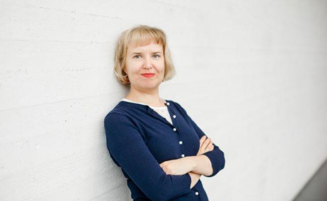 Финская журналистка Ноора Кеттунен. Иллюстрация: gazeta.fi