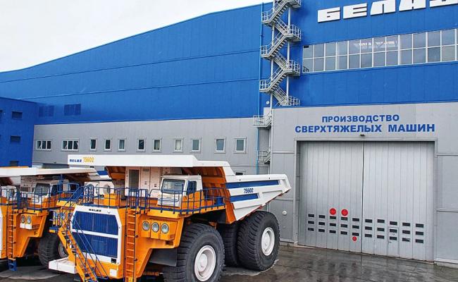 Белоруссия намерена вывести производство БелАЗов вРоссию