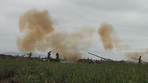 МОАзербайджана: Армянские войска атакуют насеверном участке фронта