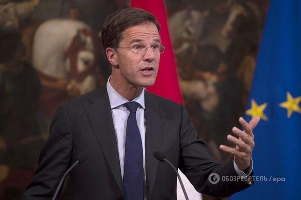 Премьер-министр Нидерландов Марк Рютте не стал обещать, что парламент страны ратифицирует соглашение об ассоциации с Украиной даже после того, как лидеры ЕС удовлетворили голландские требования.