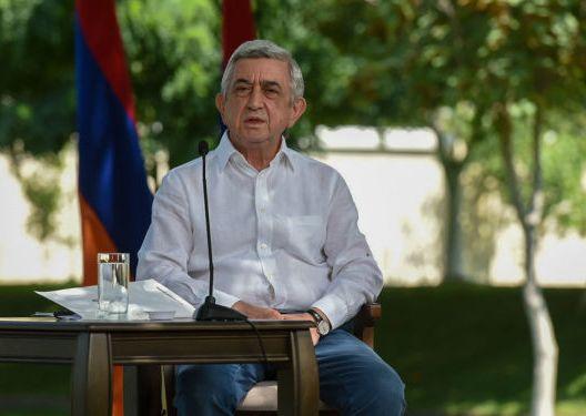 Экс-президент Армении сказал, когда следует признать независимость Карабаха