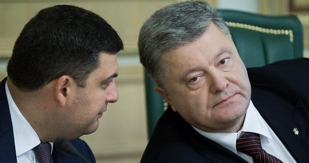Гройсман заявил, что у Порошенко уже «все позади» — Новости ...