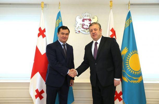 10.10.2017 Тбилиси и Астана будут расширять торгово-экономическое сотрудничество