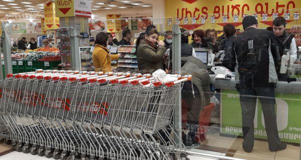 ea9ada8e543b9fec92c584f200f5f МОАрмении прояснило вопрос с«азербайджанцами» вереванском супермаркете