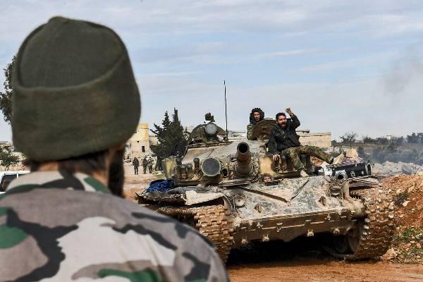 ebf42d61cfadb85cf32ce26f4d78a Сирийская армия ипротурецкие боевики схлестнулись впровинции Алеппо