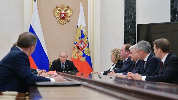 Картинки по запросу Путин обсудил с членами Совбеза ситуацию в Сирии с учетом переговоров с Нетаньяху
