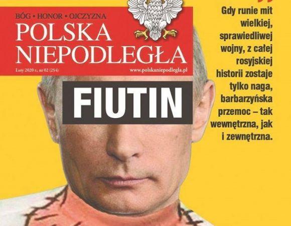 Польский журнал поглумился над Путиным. Будет ли