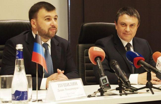 Руководители ДНР и ЛНР выступили за переговоры с Киевом по плану Медведчука
