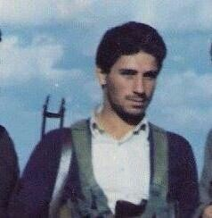 The future minister as a Peshmerga soldier