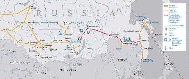 Без «Силы Сибири»: в Китае не хватает газа, отключают предприятия