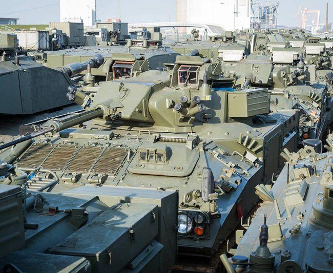 НАТО в Эстонии роют окопы и блиндажи